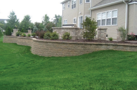 Retaining Walls Sal S Landscaping, How To Build A Retaining Wall Around Patio